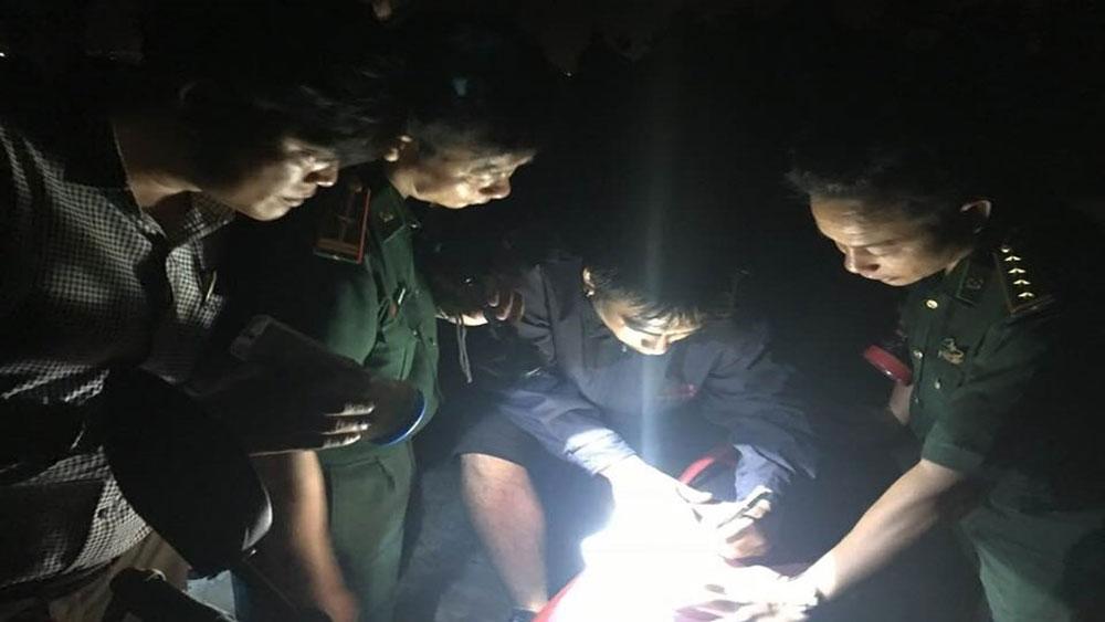 Đi phượt ở rừng Sơn Trà, một du khách Philippines bị lạc được ngư dân ứng cứu